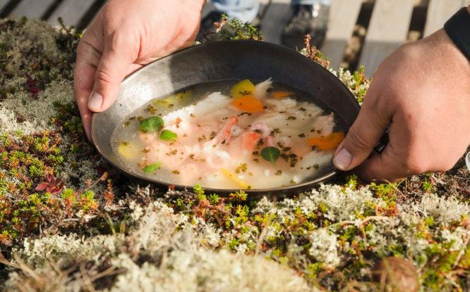 Polar cuisine presented at gastro festival in St. Petersburg