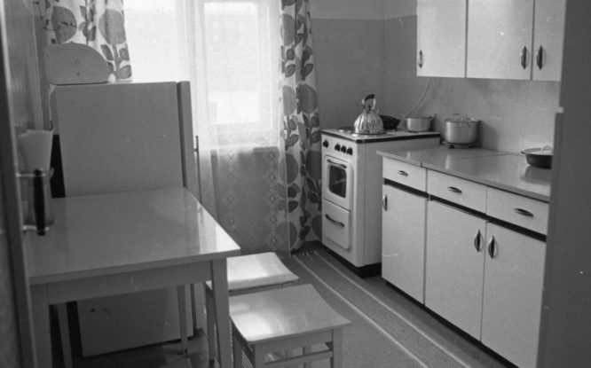 In 1963, electric stoves appeared in Norilsk apartments