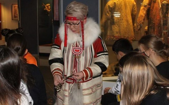 Local history museum tells about Nganasan costume cosmology