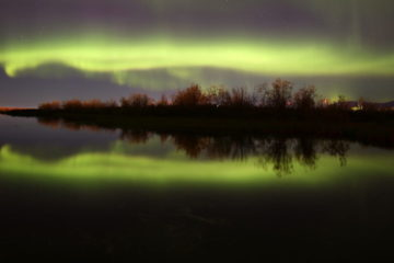 September brought abundance of polar lights to Norilsk
