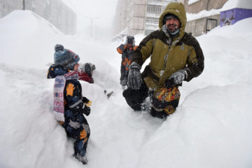 Abnormally snowy winter expected in Russia